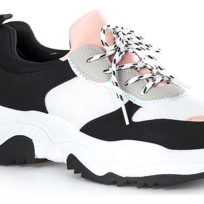 Sport Fashion Kombinované tenisky Chunky Sneakers barevné