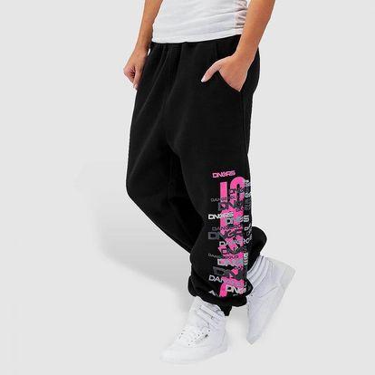Dangerous DNGRS / Sweat Pant Logo in black L