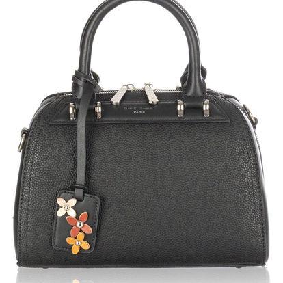 David Jones Dámská kabelka Flower s přívěskem kožené kytky