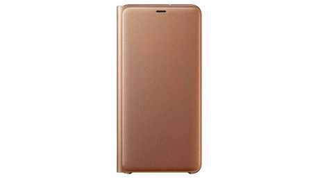 Samsung Wallet cover pro A7 (2018) zlaté (EF-WA750PFEGWW)