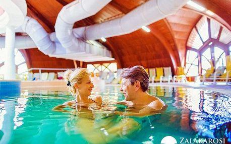 Zalakaros ve 4* hotelu Park Inn s neomezeným wellness i fitness a polopenzí