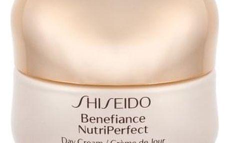 Shiseido Benefiance NutriPerfect SPF15 50 ml výživný ochranný pleťový krém pro ženy