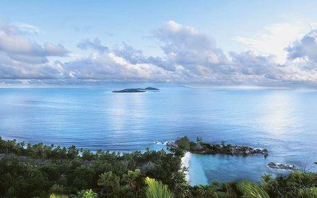 Seychely - Praslin na 10 dní, snídaně s dopravou letecky z Prahy, přímo na pláži