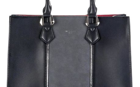David Jones Elegantní velká kabelka červený vnitřek