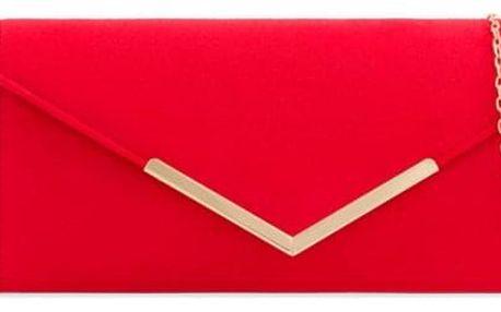 Dámské červené psaníčko Sissi 2435