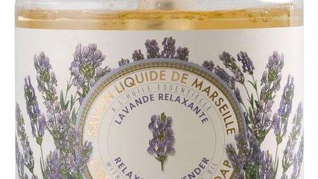 Panier des Sens Relaxační tekuté mýdlo - Levandule, žlutá barva