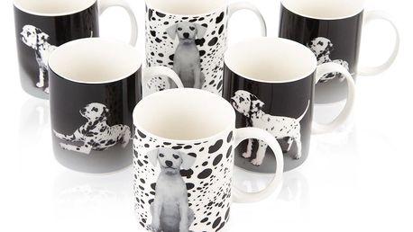 Altom Sada porcelánových hrnků Dalmatini 320 ml, 6 ks