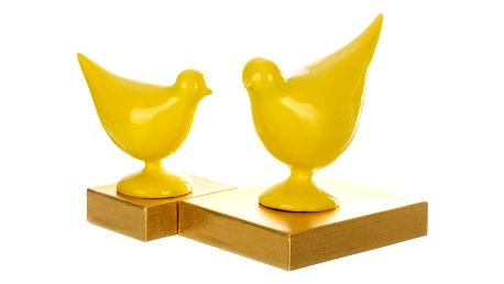 Socha dvou ptáku