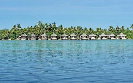 Maledivy - Ayada Maldives na 7 dní, snídaně s dopravou letecky z Prahy, přímo na pláži