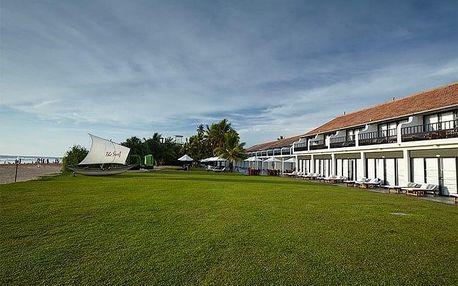 Srí Lanka - Bentota na 7 dní, snídaně s dopravou letecky z Prahy, přímo na pláži