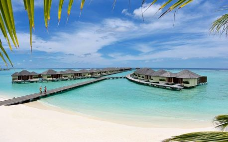 Maledivy - Severní Atol Male na 7 dní, snídaně s dopravou letecky z Prahy, přímo na pláži