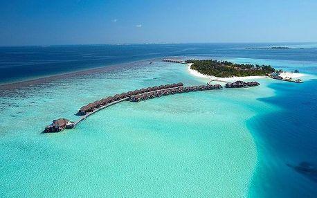Maledivy - Jižní Atol Male na 10 dní, snídaně s dopravou letecky z Prahy, přímo na pláži