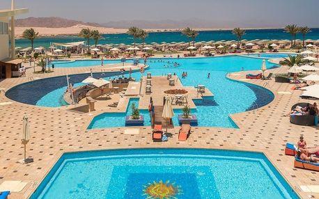 Egypt - Sharm El Sheikh na 8 dní, all inclusive s dopravou letecky z Prahy, přímo na pláži