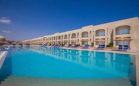 Egypt - Sharm El Sheikh na 8 dní, all inclusive s dopravou letecky z Prahy, 900 m od pláže