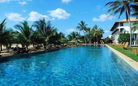 Srí Lanka - Negombo na 7 dní, snídaně s dopravou letecky z Prahy, přímo na pláži