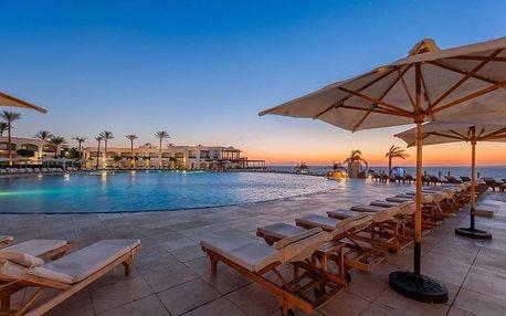 Egypt - Sharm El Sheikh na 8 dní, all inclusive nebo polopenze s dopravou letecky z Prahy, přímo na pláži