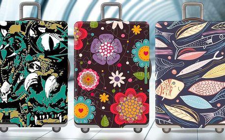 Praktické i hezké: elastické potahy na kufr