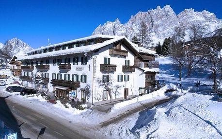 Itálie - Cortina d'Ampezzo na 4 dny, polopenze