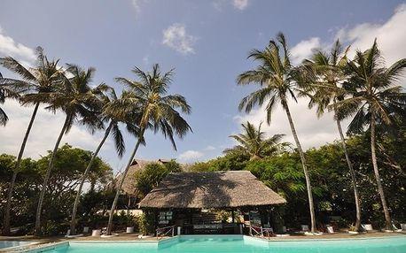 Keňa - Baobab Sea Lodge na 9 dní, all inclusive s dopravou letecky z Prahy