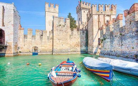 Itálie: Lago di Garda na 4 - 8 dní v Hotelu Panorama *** s polopenzí a bazénem