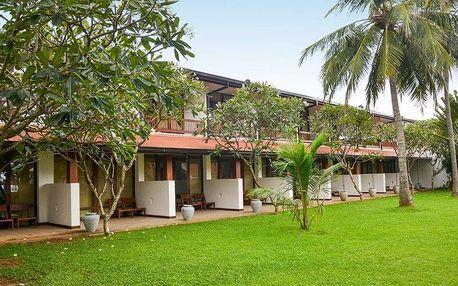 Srí Lanka - Negombo na 7 dní, polopenze s dopravou letecky z Prahy, přímo na pláži