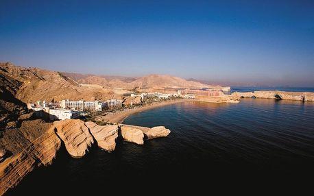 Omán - Muscat na 9 dní, snídaně s dopravou letecky z Prahy, přímo na pláži