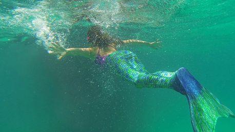 Fitness plavání s monoploutví pro dospělé