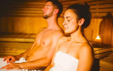 90 min. relaxace v sauně a vířivce až pro 4 osoby