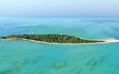 Maledivy - Lhaviyani Atol na 10 dní, polopenze s dopravou letecky z Prahy