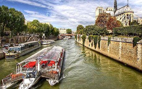 Zájezd do Paříže pro jednoho. Skvosty Paříže s projížďkou po Seině, Disneyland a lázně Amberg.