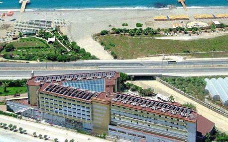 Turecko - Alanya na 8 dní, all inclusive s dopravou letecky z Prahy, 80 m od pláže