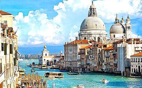 Zájezd pro jednoho do italského města Benátek, Verona, pobřeží jezera Lago di Garda.
