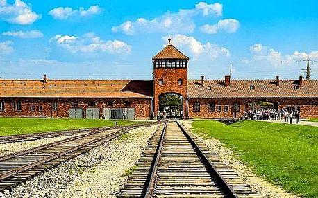 Zájezd pro jednoho - Koncentrační tábor Osvětim - Březinka, doprava autobusem, služby průvodce.