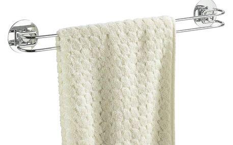 Věšák na ručníky Turbo-Loc - chromovaná ocel, WENKO