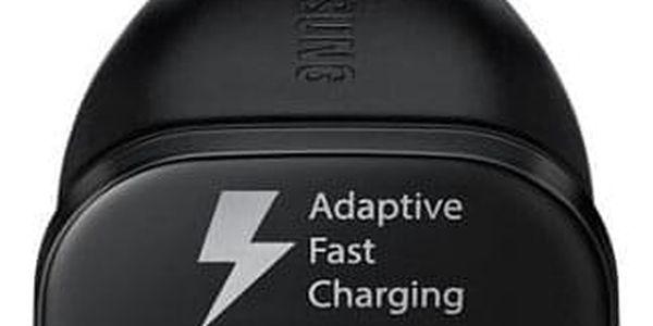 Adaptér do auta Samsung EP-LN915U, 1x USB, 2A, s funkcí rychlonabíjení + MicroUSB kabel černý (EP-LN915UBEGWW)2