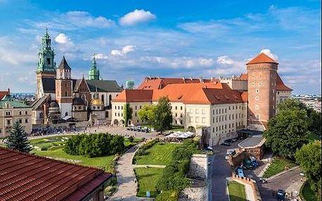 Objevte královské město Krakov s ubytováním v 3 * hotelu pro 2 osoby