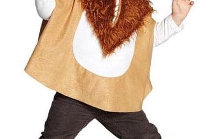 Dětská pelerína s kapucí - lvíček