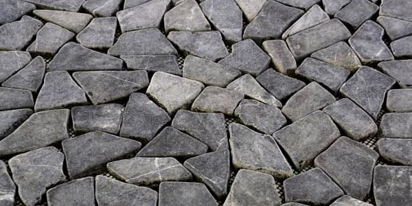 Divero Garth 678 Mramorová mozaika šedá obklady 1 m² - 55,5 x 55,5 cm3