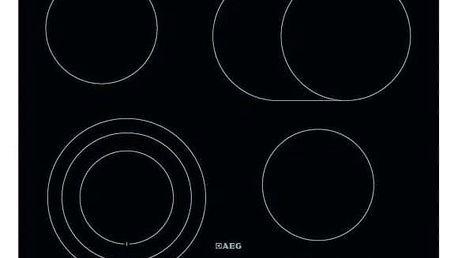 AEG Mastery HK654070IB černá/sklo