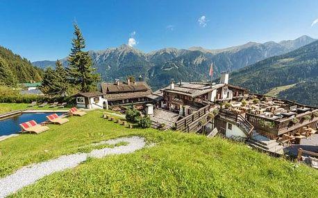 Vysoké Taury v Chalet Bellevue Alm s polopenzí a vstupem do 4* wellness a sauny