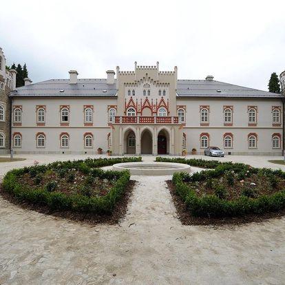 Luxus na jednom z nejkrásnějších romantických zámků v Čechách