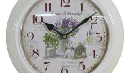 Krásné hodiny motiv levandule