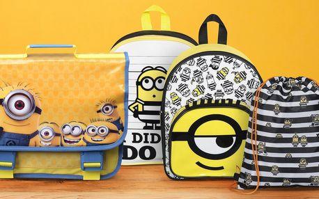 Dětské batohy, aktovky i vak na záda s Mimoni