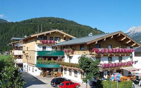 Rakousko - Saalbach - Hinterglemm na 3-8 dnů, polopenze