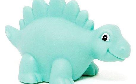 PETIT MONKEY Dětské noční světýlko Dino Night Light Green, zelená barva, plast