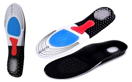 Měkké ortopedické vložky do bot
