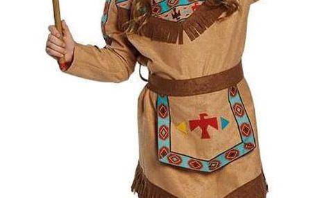 Indiánka Nawiko - kostým