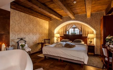 Luxusní ubytování v Zámeckém areálu Ctěnice nedaleko od centra Prahy