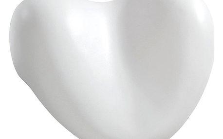 Polštář relaxační do vany, bílé SRDCE, WENKO