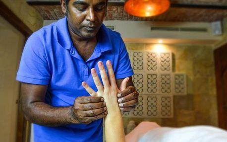 Ajurvédská masáž horkými oleji